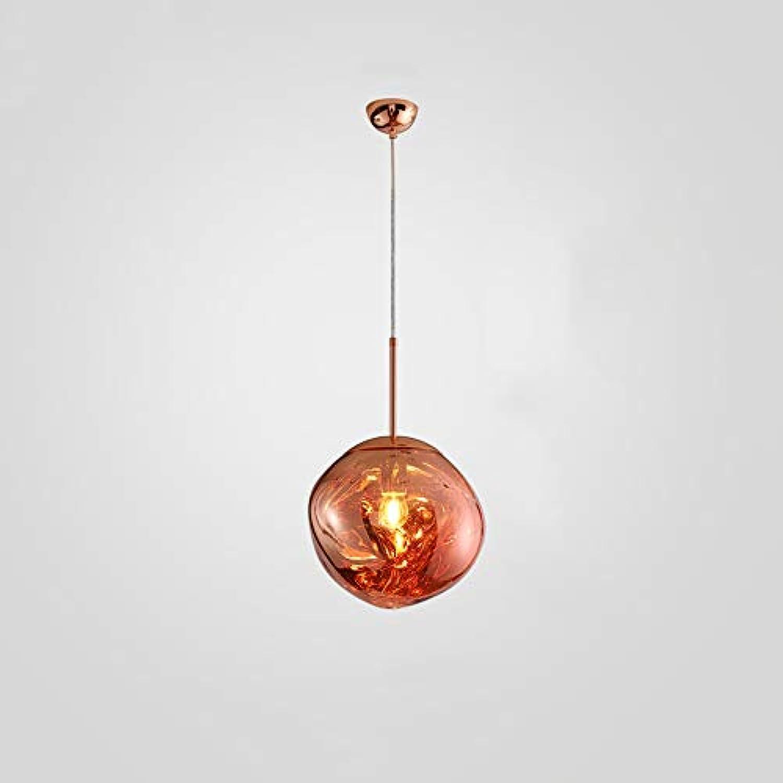 Ganeep Postmoderne Lava Glas Kugel Schatten Kreative Lampe Spiegel Hngen Pendelleuchte Kunst Berühmte Design Schlafzimmer Bar Wohnzimmer Einzigen Kopf E27 Led Leuchten (Farbe   rot-20cm)