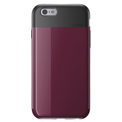 Lunatik FLAK - Carcasa para Apple iPhone 6, negro rosa