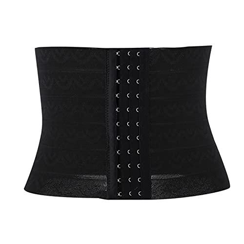 Body Shaping Belly Belt, 3 tallas 2 colores Protector de envoltura de cintura con soporte de corsé de alta elasticidad para mujeres(XL)