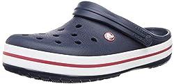 crocs Unisex-Erwachsene Crocband U Clogs, Blau (Navy), 41/42 EU