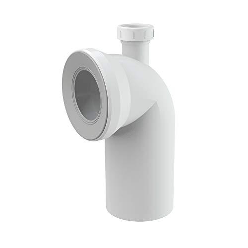 WC-Anschlussbogen 90° mit Anschluss DN40