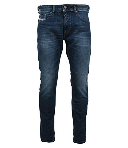 Diesel Thommer-x L.30 Pantaloni Jeans, 01 Blu Denim, 29 Uomo