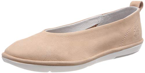Fly London Damen Crot960fly Geschlossene Ballerinas, Pink (Nude Pink 002), 37 EU