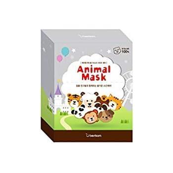 Berrisom, Mascarilla facial pack de Animales- 1 unidad: Amazon.es ...