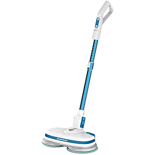 Great Deal! KJRJX Wireless Electric Steam Mop Hard Floor Cleaner for Cleaning Floor Care Home Moppin...