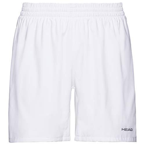 HEAD 811379-Wh L Pantalones Cortos, Hombre, Blanco, L
