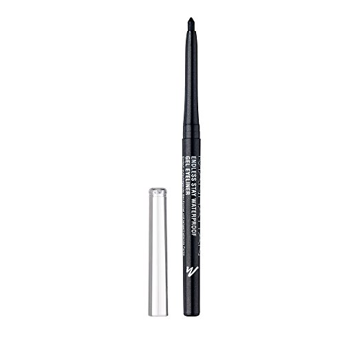 Manhattan Endless Stay Waterproof Gel Eyeliner, Grauer Gel Eyeliner mit herausdrehbarer Mine ohne...