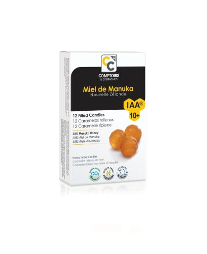 Comptoirs et Compagnies - Gefüllte Bonbons- mit Manuka Honig -IAA10+ - MGO 263- 48g