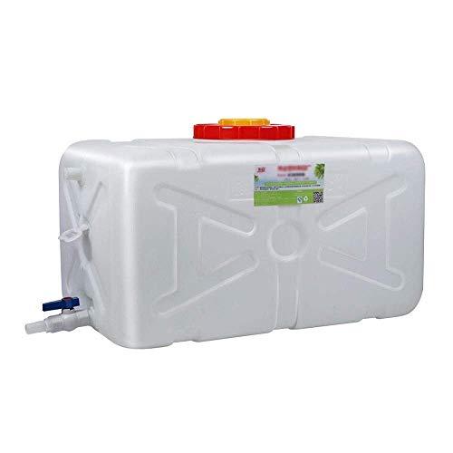 Bidon d'eau extérieur 30L-200L avec réservoir d'eau de voiture de réservoir de grande capacité Conteneur industriel de stockage d'eau avec couvercle Joint en plastique PE pour camping Chasse Taille
