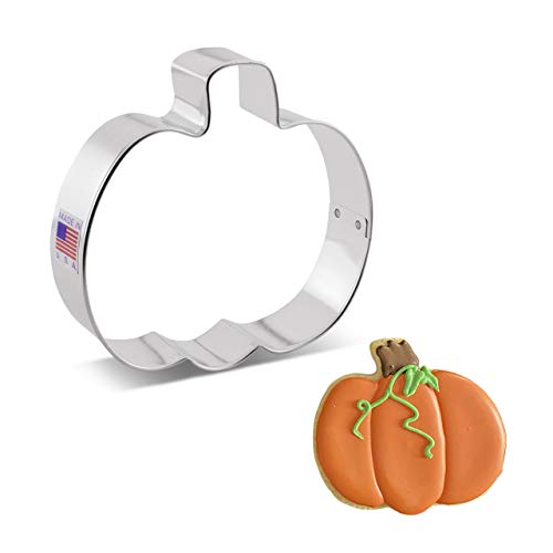 Ann Clark Cookie Cutters Pumpkin Cookie Cutter, 4""