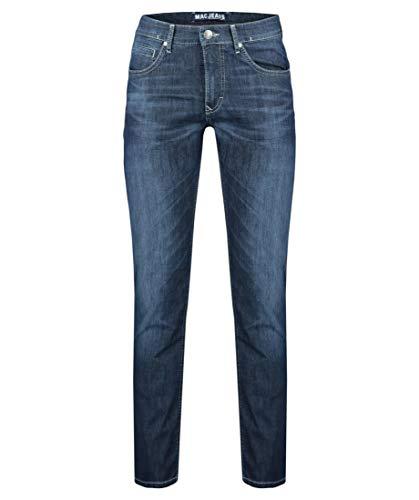 MAC Jeans Herren Arne Jeans, H681 deep Blue 3D Authentic wash, 30/30