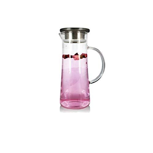 Botella agua Nueva bote de vidrio de gran tamaño resistentes al calor...