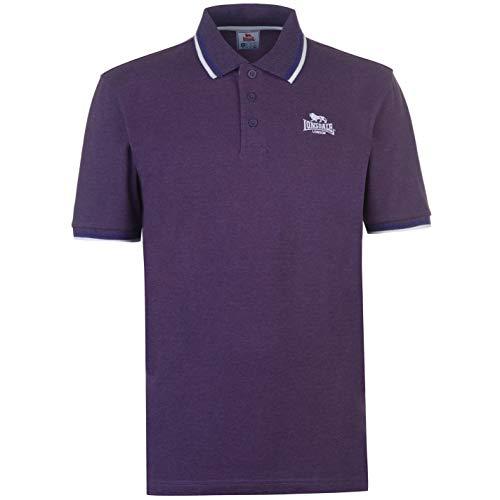 Lonsdale, Herren-Polohemd Gr. XL, violett