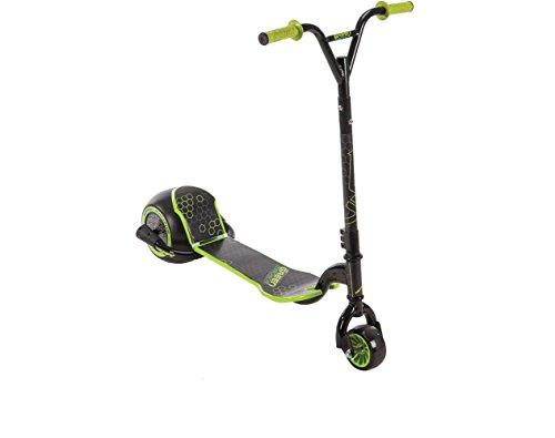 powerful Huffy Green Machine Drift Scooter, Black / Green