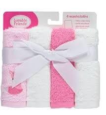 Luvable Friends 4 pièces Ensemble de gants de toilette Fox