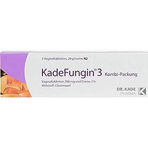 Wirkstoff: Clotrimazol zur Behandlung von Pilzinfektionen Tabletten und Creme zur Anwendung in der Vagina apothekenpflichtiges Arzneimittel (PZN: 03766139) Zu Risiken und Nebenwirkungen lesen Sie die Packungsbeilage und fragen Sie Ihren Arzt oder Apo...