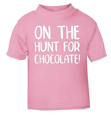 Flox Creative T-Shirt pour bébé Motif Chasse-Chocolat - Rose - 1-2 Ans