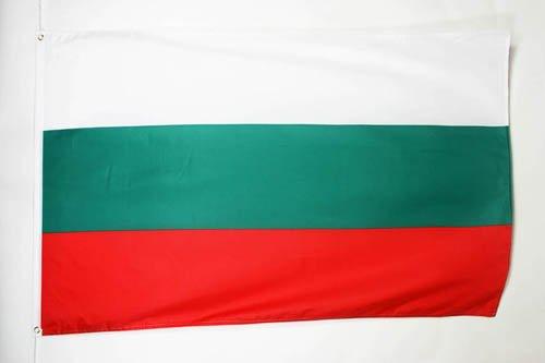 AZ FLAG Flagge BULGARIEN 150x90cm - BULGARISCHE Fahne 90 x 150 cm feiner Polyester - flaggen