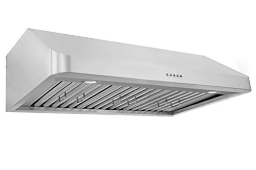 """XtremeAir Ultra Series UL10-U30, 30"""" width, Baffle filters, 3-Speed Mechanical Buttons,1.0 mm Non-magnetic S.S, Under cabinet hood"""