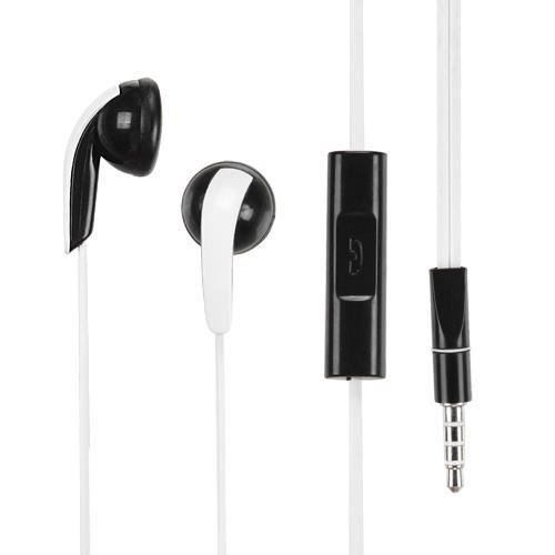 White noodle cancellazione del rumore 3.5mm stereo auricolari/cuffie W/microfono per Microsoft Surface Pro 4/Pro 3/Lumia 950XL/950/550/640/640XL/535/540Dual/430/640XL/535/540Dual/430/532/435+ pennino