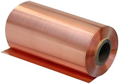 0 05mm x 100mm x 1000mm 99 9 Pure Copper Cu Metal Sheet Foil product image