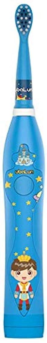 地獄異常な検出USBと3-12歳の電動歯ブラシ柔らかい毛防水漫画柔らかい歯ブラシの充電式 Alysays