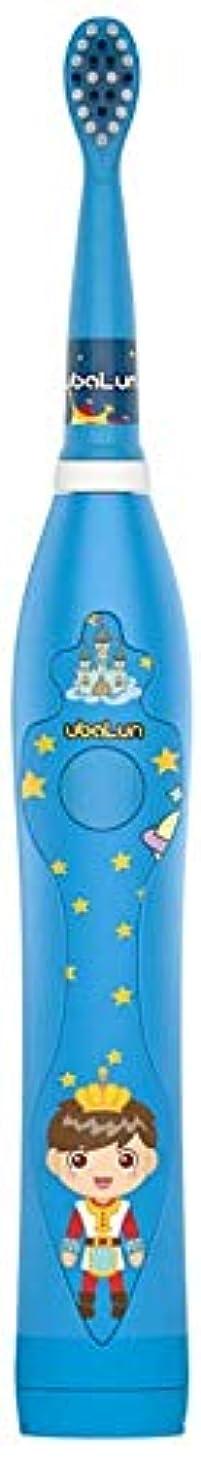 現実にはチャンピオンシップ閉じ込めるUSBと3-12歳の電動歯ブラシ柔らかい毛防水漫画柔らかい歯ブラシの充電式 Alysays