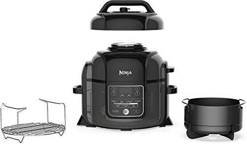 Ninja Cooker237 Pressure Cooker, 6.5 quart, Black (Renewed)