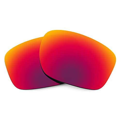 Revant Lentes de Repuesto Compatibles con Gafas de Sol Oakley Sliver F, Polarizados, Sol de Medianoche MirrorShield