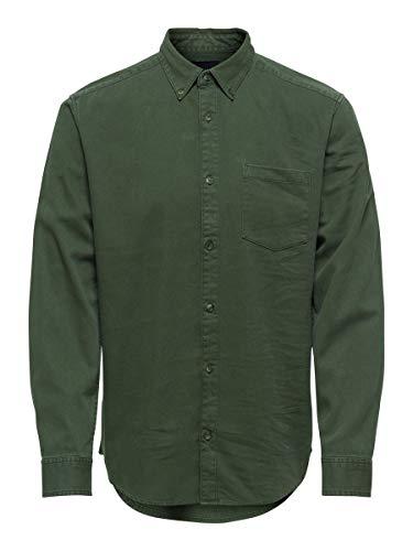 ONLY & SONS Male Hemd Regular Fit XLScarab
