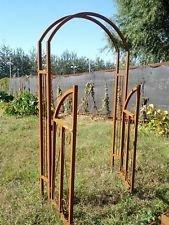 Zen Man Edelrost Garten Rosenbogen Rost aus Metall,Eisen,GartenDekoration