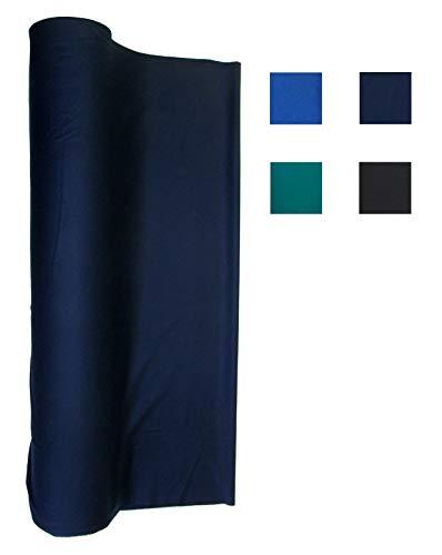 21 Ounce Pool Table Felt - Billiard Cloth - an 8 Foot Table Navy Blue