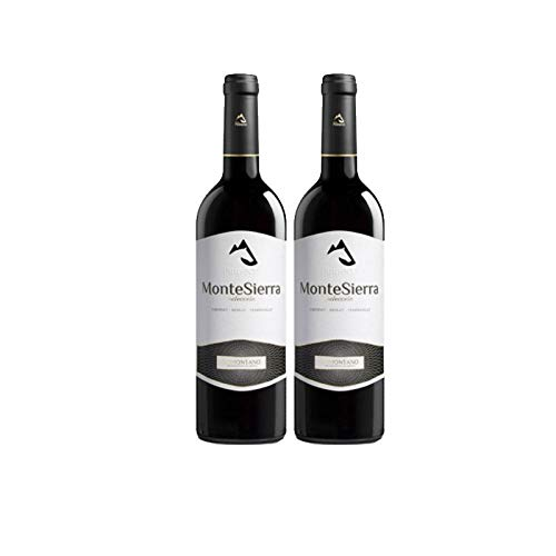 Vino tinto MonteSierra Seleccion de 75 cl - D.O. Somontano - Bodegas Barbadillo (Pack de 2 botellas)