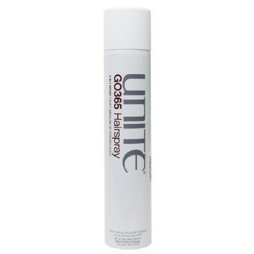 Unite Go365 Hairspray 3 in 1 Spray: Soft, Medium or Strong Hold-10 oz (284 g) by UNITE