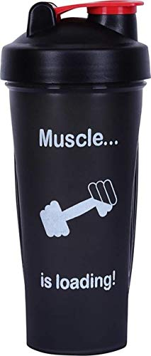 Chubs Muscle is Loading Gym Shaker with Mixer Ball (700Ml)