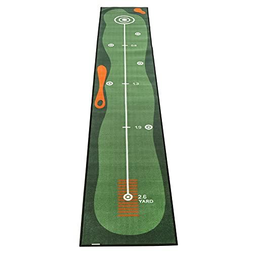 EBTOOLS Golf Putting Matte, Übungs-Putting-Matte Puttingmatte Putting-Übungsmatte Golf Trainingsmatte für den Innen- und Außenbereich