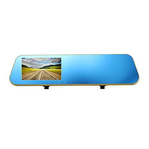 Dash CAM 1080P Dual Lens Auto Grabación En Bucle-Ciclo Coche DVR Dash CamVisión Nocturna con Pantalla LCD