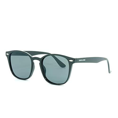 Óculos de sol,POL0114-C4,Hang Loose,Adulto unissex,Marrom,Único
