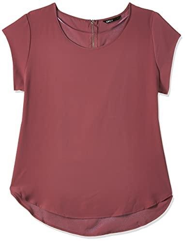 Only 15142784 Camiseta, Rosa (Tisch Rose Tisch Rose), 44 para Mujer