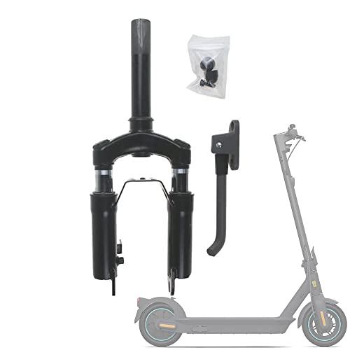 Flycoo2 - Kit de suspensión delantera con soporte para pie para patinete eléctrico Segway Ninebot Max G30