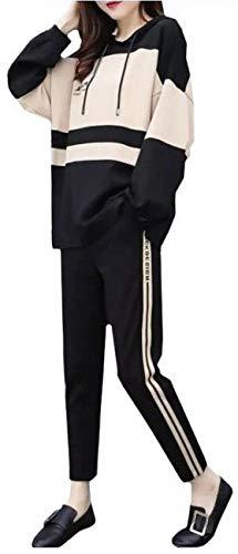 [マグノ] レディース スウェット ルームウェア セットアップ ジャージ 長袖 フード パーカー ロングパンツ 上下 2点 セット 人気 ランキング かわいい カワイイ 可愛い おしゃれ オシャレ お洒落 トレンド 韓国 大きいサイズ シンプル カジュアル