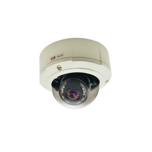 Acti B81 - Telecamera a cupola da esterni giorno/notte, con zoom e risoluzione di 5 Mpix