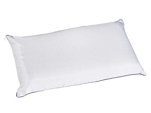 Almohada Viscoelástica de firmeza Baja Visco Soft de Pikolin, Recomendada para Dormir Boca Abajo o niños (80cm)