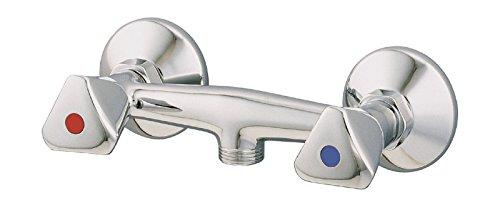 AquaSu – Duscharmatur mit Zweigriffmischer für Brause, Chrom - 2