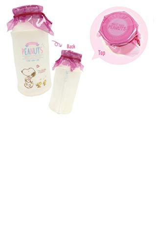 ティーズファクトリー スヌーピー 牛乳瓶型ポーチ ピンク H17×Φ8cm SN-5570379PK