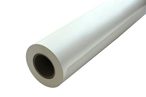 Carte Dozio - Carta kraft bianco per imballo e scenografia rotolo 80 gr/mq - h cm 150 x 90 mtl - ⌀ Int. mm 70 - ⌀ Est. mm 13,5