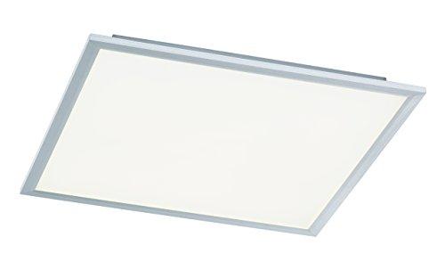 WOFI Deckenleuchte, 1-flammig, Serie Liv, 1 x LED, 44 W, Breite 60 cm, Höhe 5.5 cm, Tiefe 60 cm, Kel