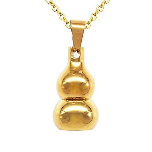 Ataúdes Y Urnas,Artículos Conmemorativos Se Puede Abrir con Amuleto Polipasto Colgante Botella De Perfume Cenizas Botella Acero Titanio Accesorios Oro