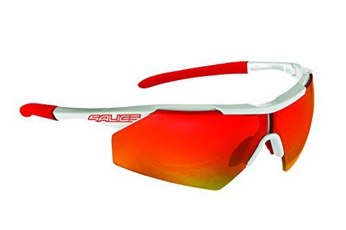 Salice 004RW - Gafas de Ciclismo, Color Blanco, Talla única