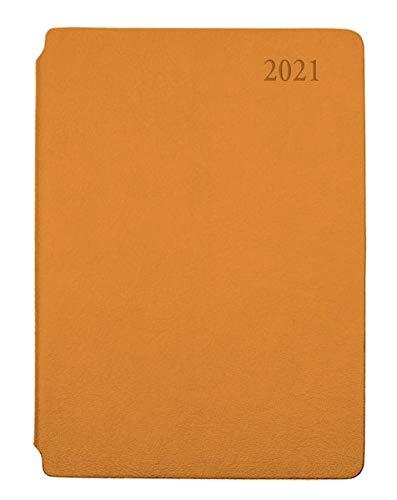 Trötsch Wochenplaner 2021 A5 orange: mit Stiftfach (Taschenkalender)